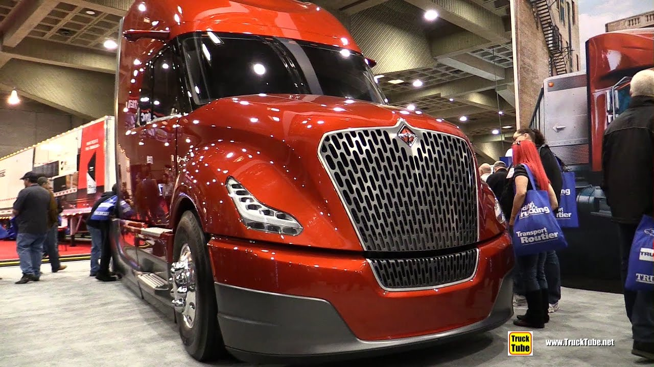 Freightliner Trucks For Sale >> International Navistar Super Truck Catalist - Walkaround - 2017 Expocam Montreal - YouTube