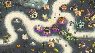 Kingdom Rush Frontiers Walkthrough Level 19 Bonesburg [Veteran] [3 Stars]
