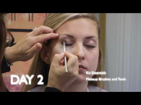 Makeup Classes - How to learn Makeup Artistry CARA 5 day Bootcamp preview - YouTube
