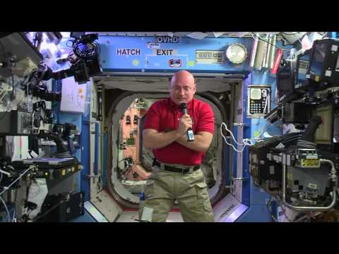 """Space Station Crewmember Scott Kelly Talks to the """"Today Show"""" and Social Media Followers"""