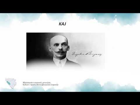 Hrvatski Jezik Vii Razred Dragutin Domjanic Kaj Youtube