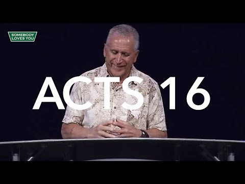 Acts 16 // Wednesday Night Service