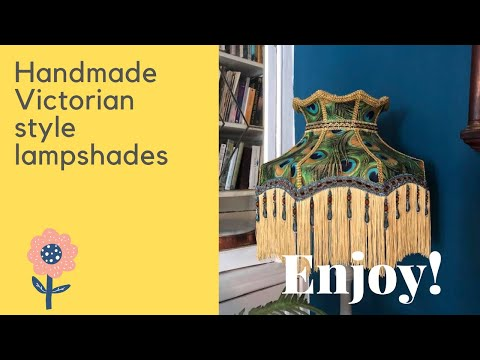 Handmade Victorian Lampshades - Custom made