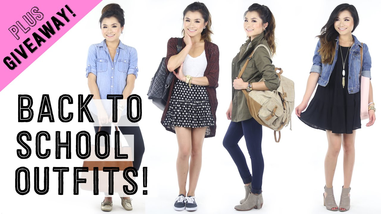 back to school giveaway ideas casual back to school outfit ideas giveaway 6054
