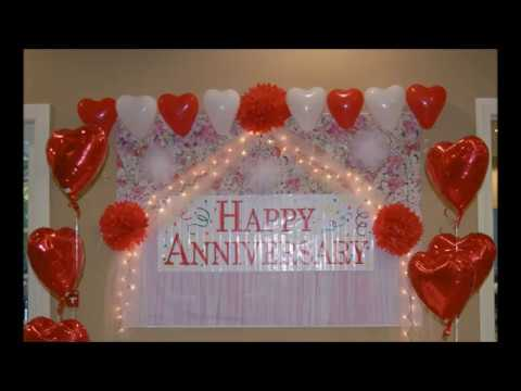 Diy Anniversary Room Decoration Youtube