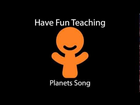 Planets Song - YouTube