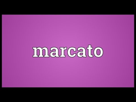 Marcato Meaning