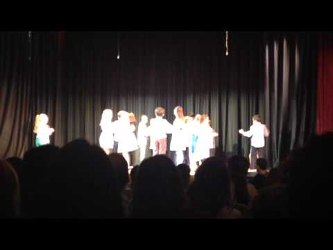 Latin dance recital