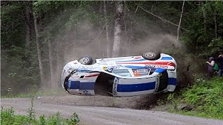 Аварии на ралли в Финляндии #8 WRC. (Подборка раллийных аварий на авто гонках)