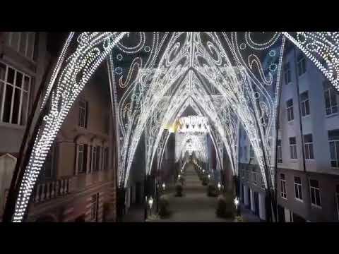 Así será la decoración navideña de la calle Santiago de Valladolid