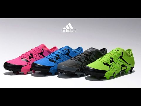 tachones adidas x 15 1 youtube. Black Bedroom Furniture Sets. Home Design Ideas