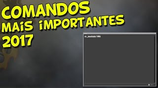 CS:GO - COMANDOS MAIS IMPORTANTES 2017