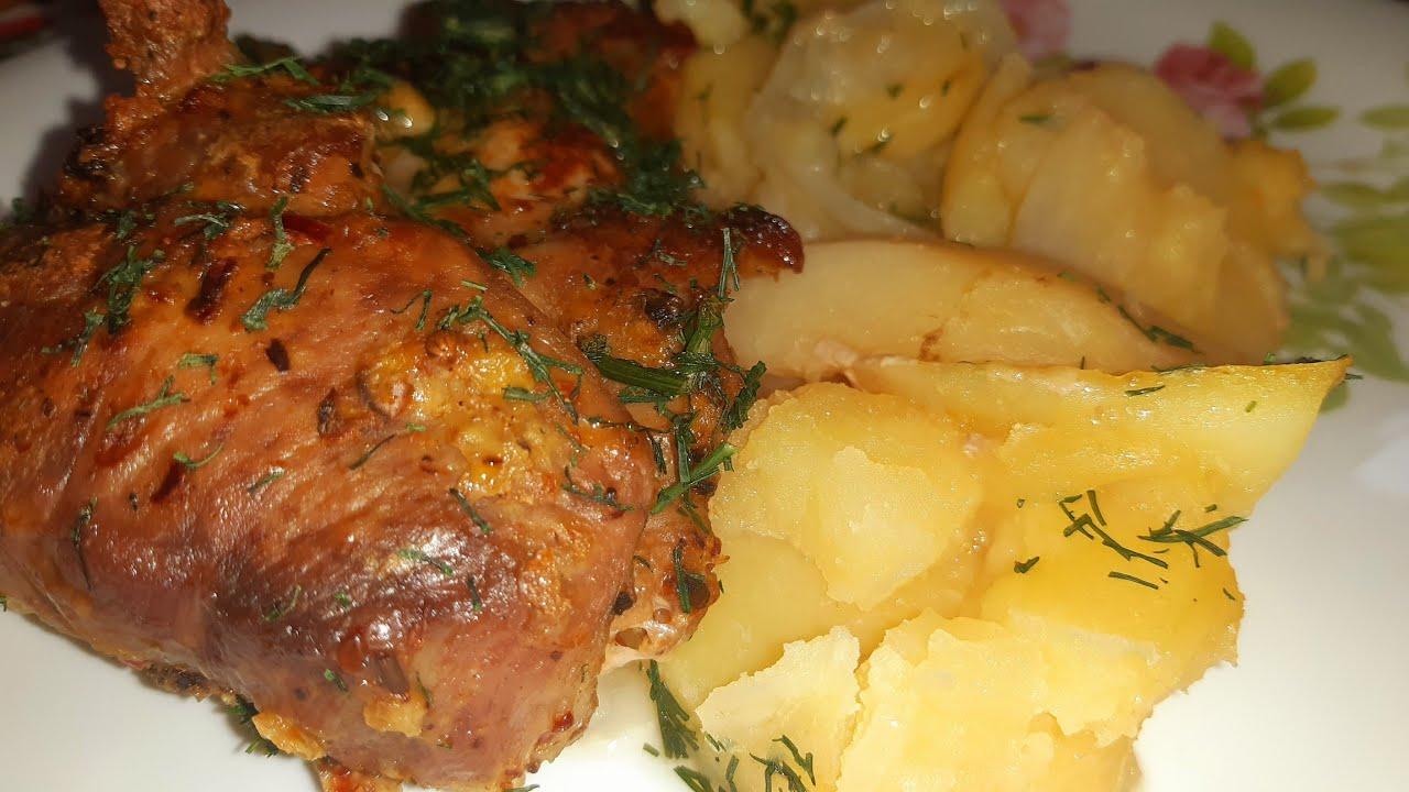 БЕЗУМНО вкусное МЯСО с Картошкой 🤗 блюдо которое получается всегда 👍👍👍 Деревенская кухня