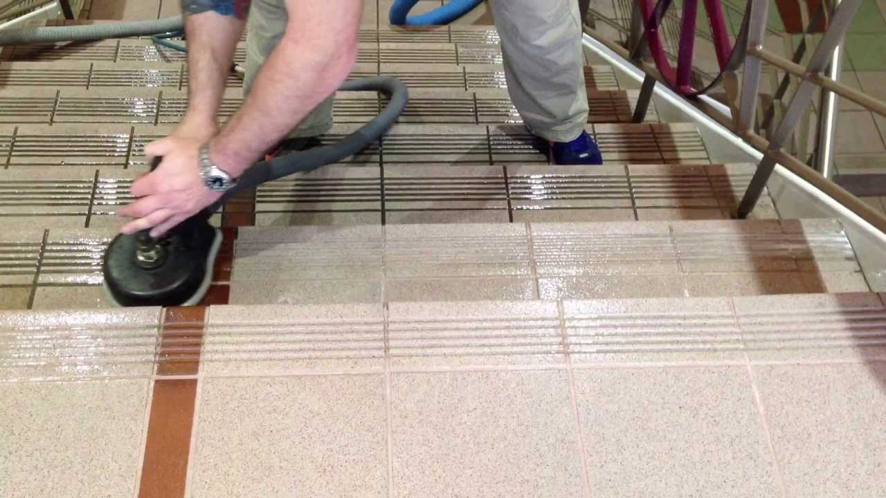 Tile U0026 Grout Cleaning Of Stairs
