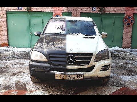Отзыв владельца Mercedes ML W163 2003 года выпуска после 5 лет эксплуатации