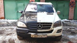 Відгук власника Mercedes ML W163 2003 року випуску після 5 років експлуатації