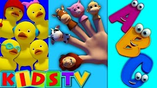 ABC Finger Family | ABC Song | Alphabets Song | Phonic Song | Nursery rhymes | kids songs