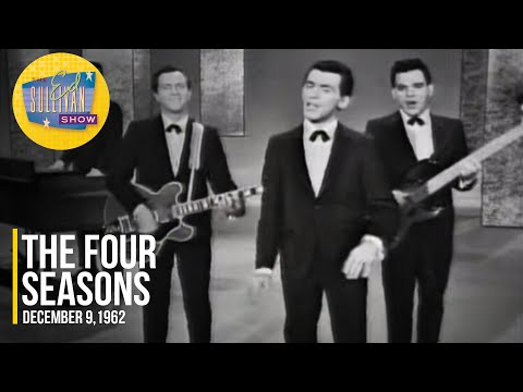 """The Four Seasons """"Big Girls Don't Cry"""" on The Ed Sullivan Show"""