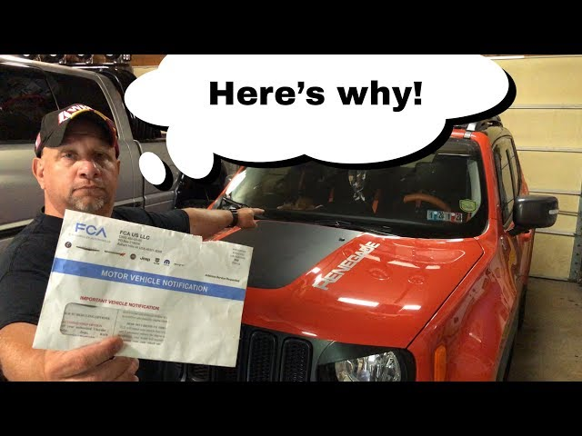 My Jeep Renegade Gets A Recall Notice!