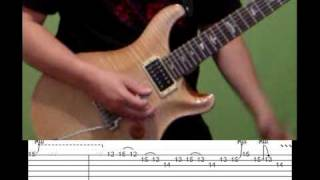 Guitar Lesson - Stairway to Heaven (solo) by Led Zep with tabs