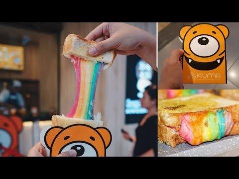 Roti Pelangi, KUMA Rainbow Toast Cheese Yang Kekinian