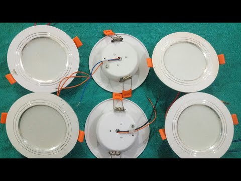 How To Repair Ceiling Led Lights
