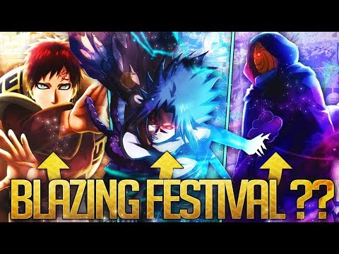** SO MANY CHOICES BUT WHO IS BLAZING FESTIVAL? *   ** Naruto Ultimate Ninja Blazing *