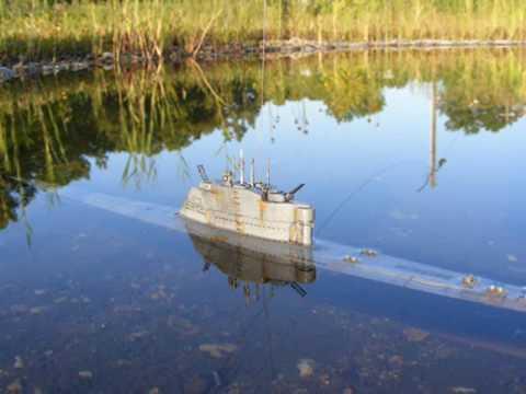 U-boot XXI (U-boat XXI) RC submarine