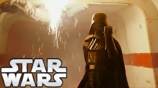 Why Does Darth Vader Raise His Cybernetic Arms to Use the Force? Star Wars Explained