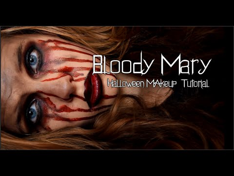 Bloody Mary| Halloween Makeup - YouTube