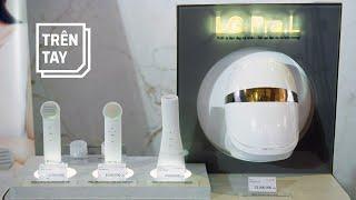 LG Pra.L: 50 triệu đồng cho  bộ thiết bị chăm sóc da mặt