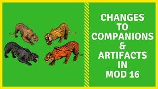 Nerfs & Buffs Of Certain Artifacts & Companions In Neverwinter Mod 16