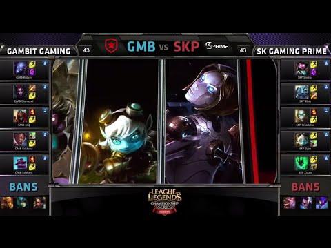 Gambit Gaming Vs SK Prime | Game 1 Season 5 EU LCS Spring Promotion/Relegation | GMB Vs SKP G1