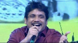 "Nagarjuna's Funny Song ""I Love You Amala"" @ Manam Sangeetam Event - ANR"