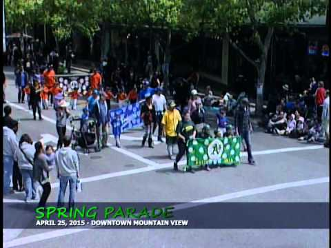 Mountain View Downtown Spring Parade - April 25, 2015