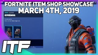 Fortnite Item Shop *NEW* HYPERNOVA SKIN SET! [March 4th, 2019] (Fortnite Battle Royale)