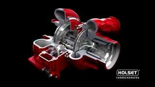 Cummins Turbo Technologies HE400VG - Animation