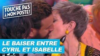 Le baiser d'Isabelle Morini-Bosc et Cyril Hanouna