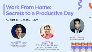 Work From Home: Secrets to a Productive Day