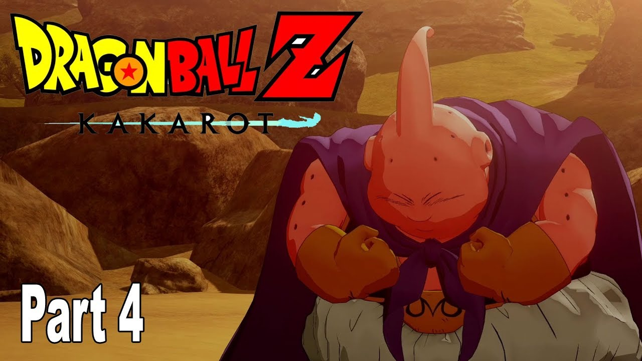 Dragon Ball Z: Kakarot - Majin Buu Saga Gameplay Walkthrough Part 4 No Commentary [HD 1080P]