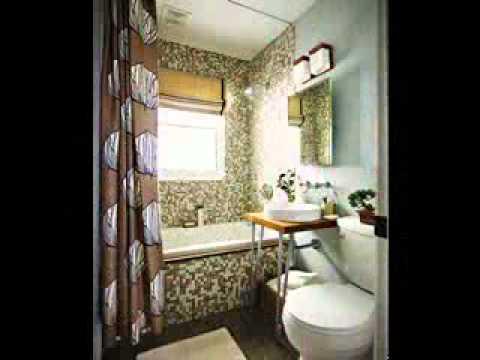 Bathroom curtain design ideas