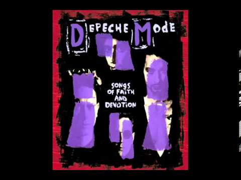 Depeche Mode - Walking In My Shoes -  Songs Of Faith And Devotion 1993