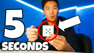 HOW TO SOLVE A RUBIK'S CUBE IN 5 SECONDS (EASY)