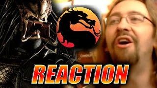 MAX REACTS: Predator Trailer - Mortal Kombat X DLC
