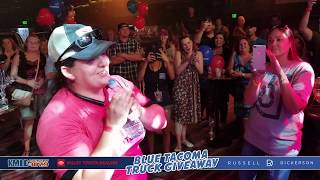 KMLE Blue Tacoma Giveaway With Russell Dickerson Video