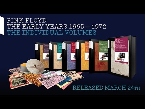 Pink Floyd - The Early Years: The Individual Volumes (Unboxing Video) Thumbnail image