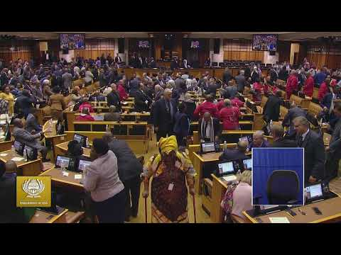 Watch: LIVE -  Ramaphosa Reply The SONA Debate