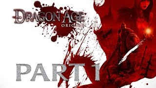 Modded Dragon Age Origins Playthrough Part 1 | Human Noble, Of New Begins (Preview)