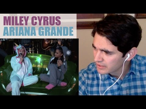 Don't Dream It's Over (Performed by Miley Cyrus & Ariana Grande) Reaction