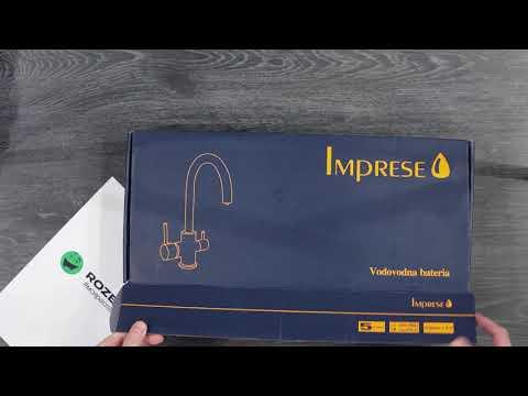 Смеситель кухонный с подключением к фильтру IMPRESE DAICY-U 55009-U